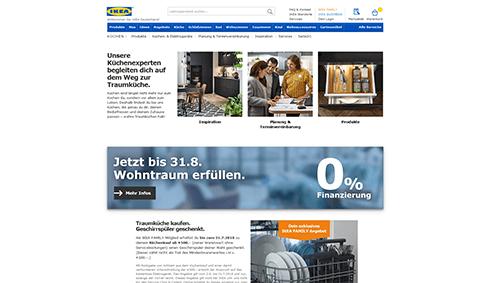 Ikea-Küchen